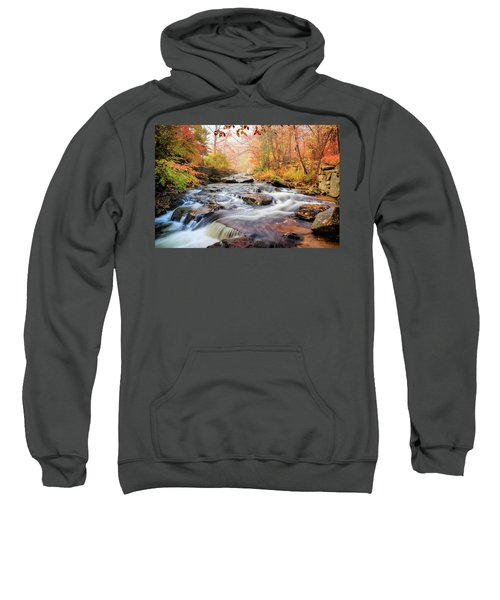 Fall Morning At Gunstock Brook Sweatshirt