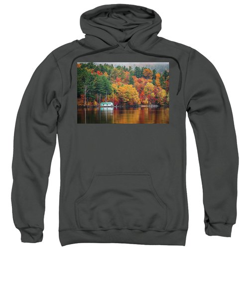 Fall On Lake Winnipesaukee Sweatshirt