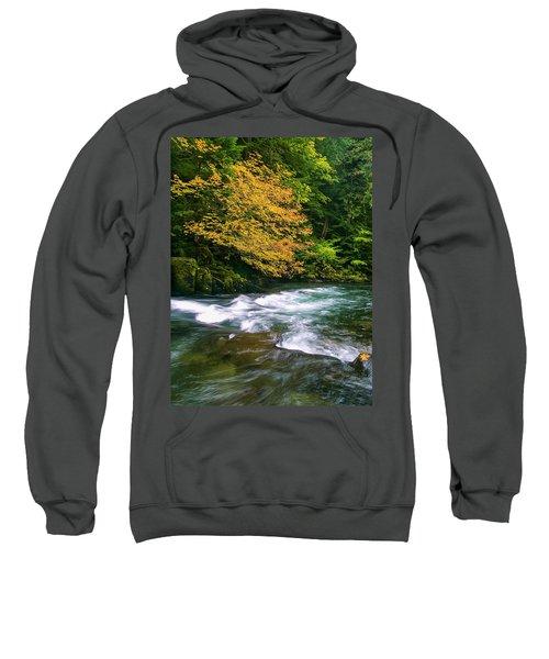 Fall On The Clackamas River, Or Sweatshirt