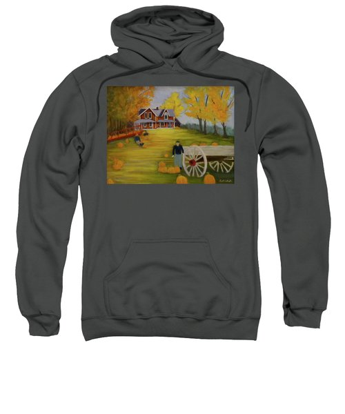 Fall Pumpkin Harvest Sweatshirt