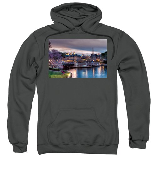 Fall Sunset Of France Sweatshirt