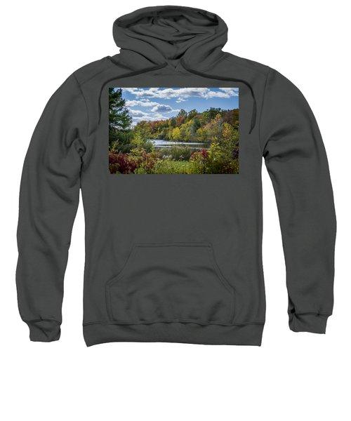 Fall Time On The Lake Sweatshirt