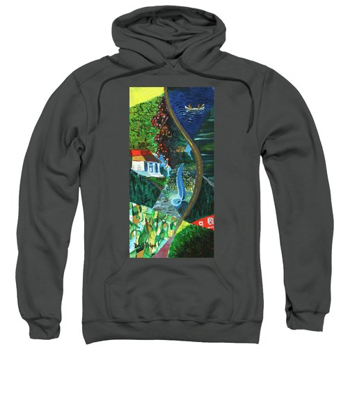 Falls, Fingers And Gorges Sweatshirt