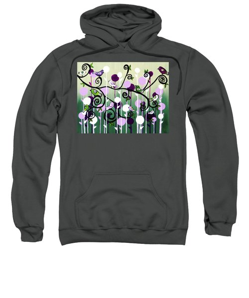 Family Tree Sweatshirt by Teresa Wing