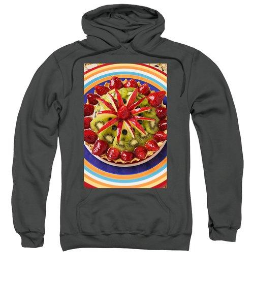 Fancy Tart Pie Sweatshirt by Garry Gay