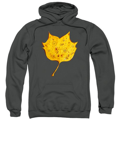 Fancy Yellow Autumn Leaf Sweatshirt