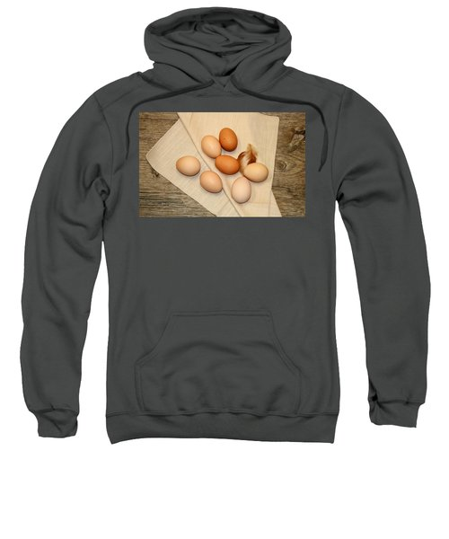 Farm Fresh Eggs Sweatshirt