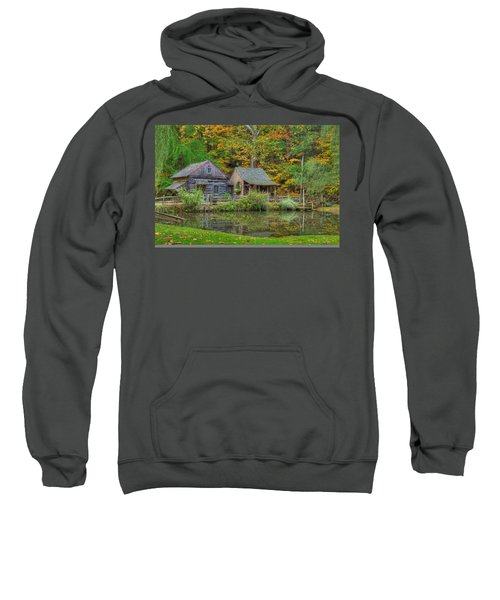 Farm In Woods Sweatshirt