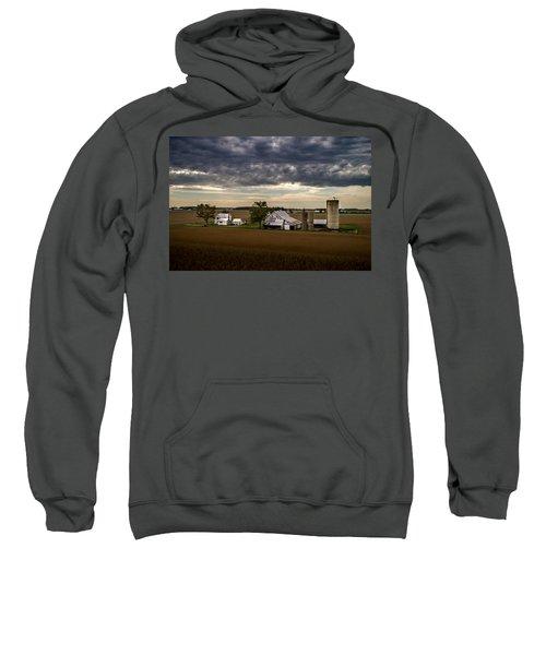 Farmstead Under Clouds Sweatshirt