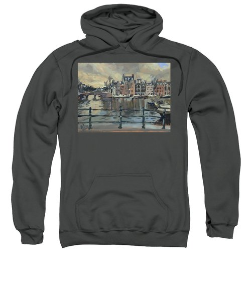 February Morning Along The Amstel Sweatshirt