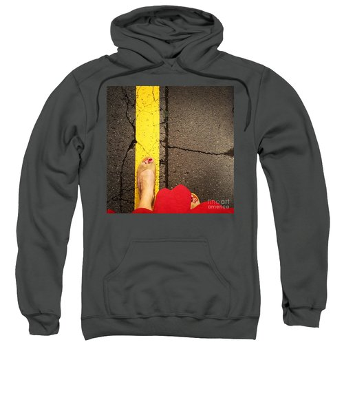 Feet Around The World #27 Sweatshirt