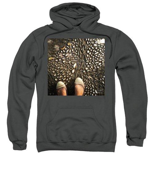 Feet Around The World #32 Sweatshirt