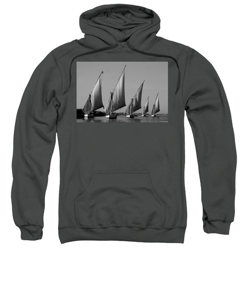 Feluccas On River Nile Sweatshirt