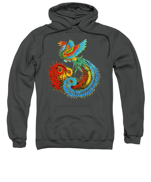 Fenghuang Chinese Phoenix Sweatshirt by Rebecca Wang