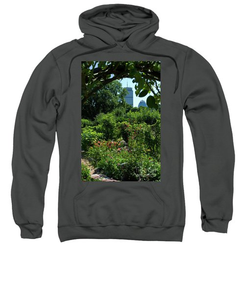 Fenway Victory Gardens In Boston Massachusetts  -30951-30952 Sweatshirt