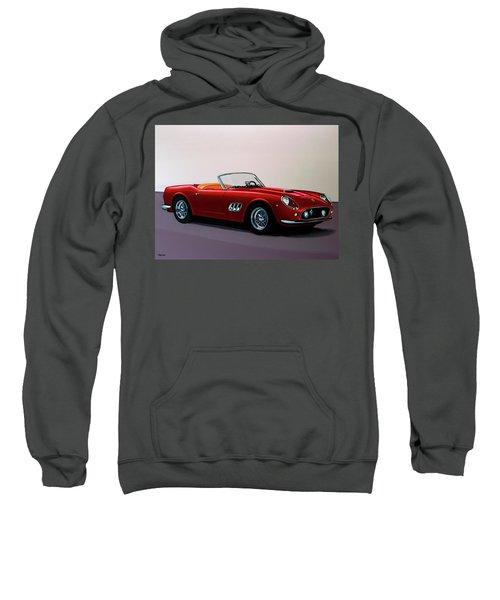 Ferrari 250 Gt California Spyder 1957 Painting Sweatshirt