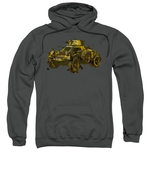 Ferret Scout Car Sweatshirt