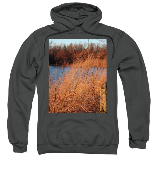 Amber Brush On The River Sweatshirt