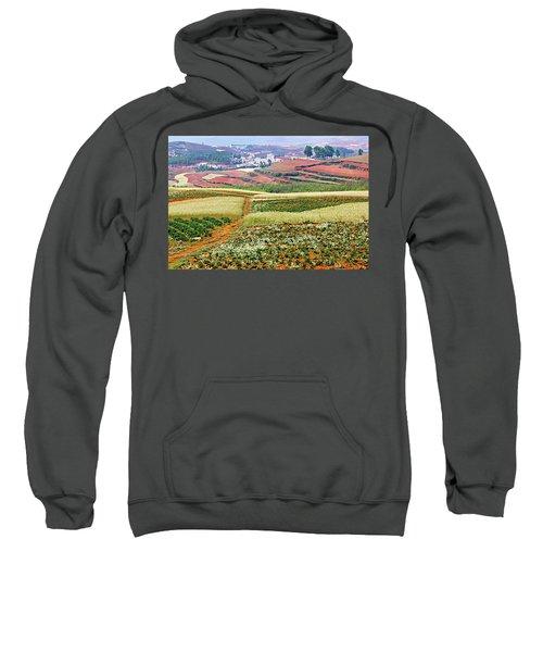 Fields Of The Redlands-1 Sweatshirt