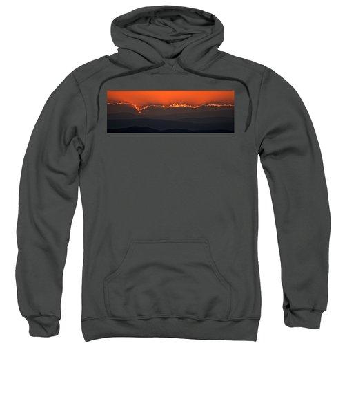 Fiery Sunset In The Luberon Sweatshirt