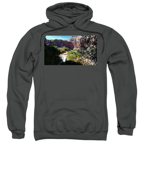 Fifty Falls And Havasupai Falls Havasupai Indian Reservation Sweatshirt