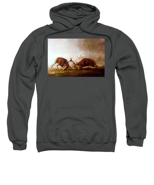 Fighting Stags II. Sweatshirt