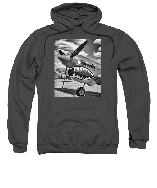 Sweatshirt featuring the photograph Fighting Tiger by Ricky L Jones
