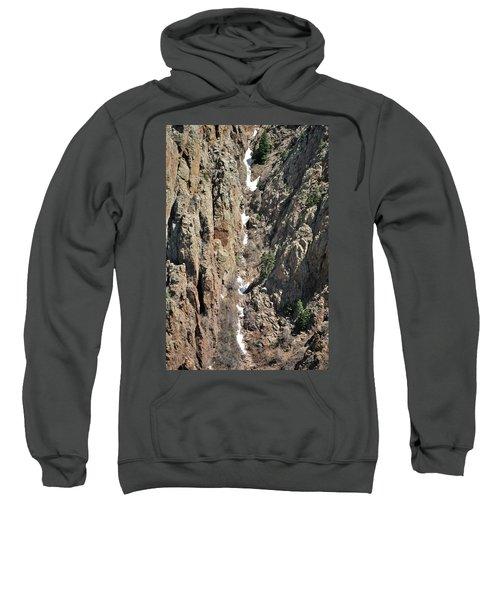 Final Traces Of Snow Sweatshirt