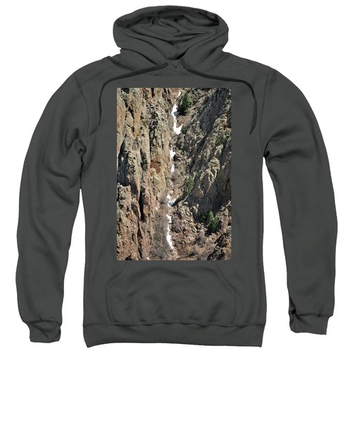 Final Traces Of Snow Sweatshirt