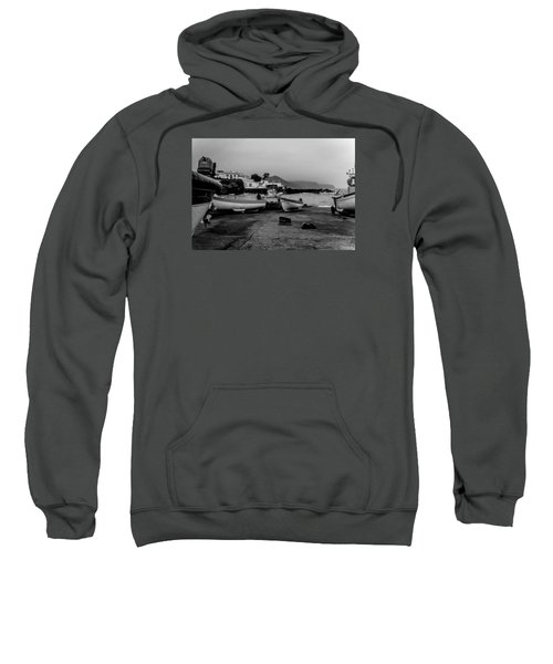 Sweatshirt featuring the photograph Fine Art Back And White252 by Joseph Amaral