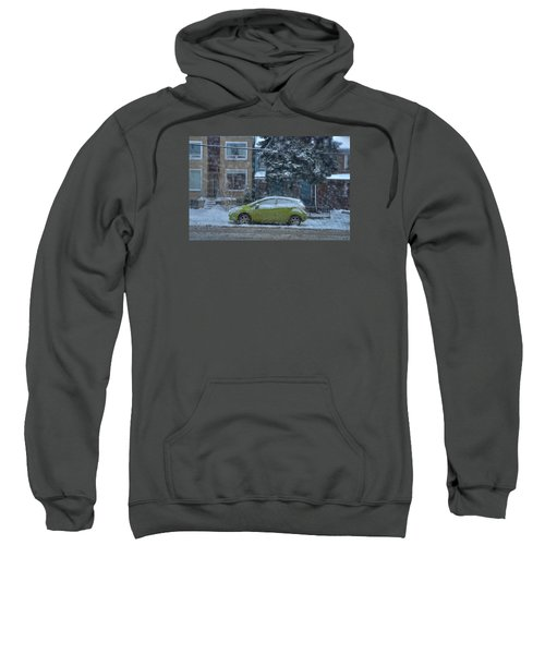 Sweatshirt featuring the photograph Winter-2014 by Joseph Amaral