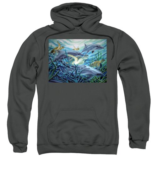 Fins And Flippers Sweatshirt