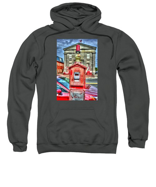 Fire Alarm Box 375 In Painterly Sweatshirt