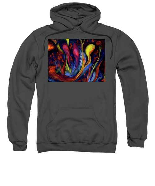 Fire Flowers Sweatshirt
