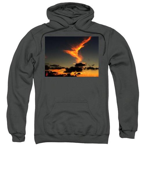 Early Evening Over Paros Island Sweatshirt