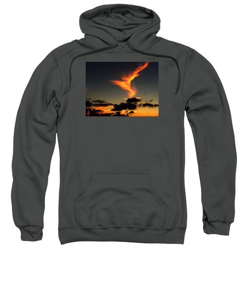 Early Evening Over Paros Island Sweatshirt