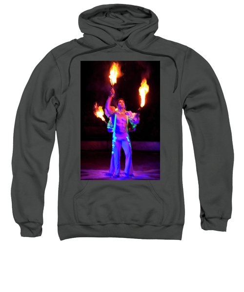 Fire Juggler Sweatshirt