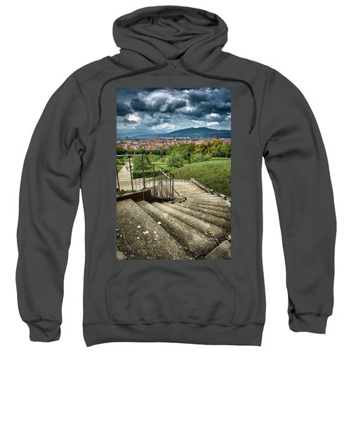 Firenze From The Boboli Gardens Sweatshirt