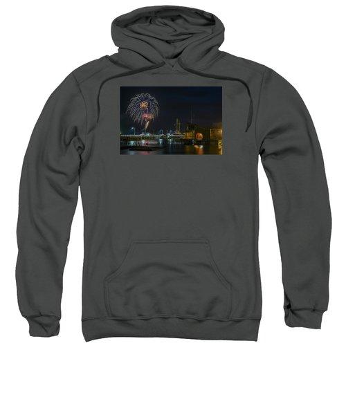 Fireworks And 17th Street Docks Sweatshirt