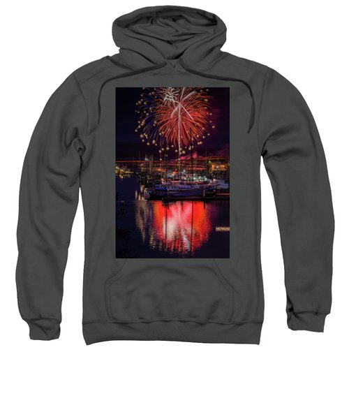 Fireworks At The Docks Sweatshirt