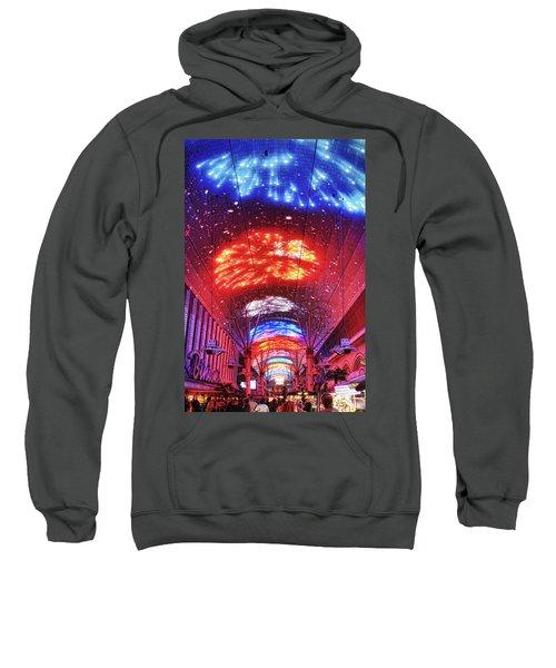 Fireworks Display In Las Vegas Sweatshirt
