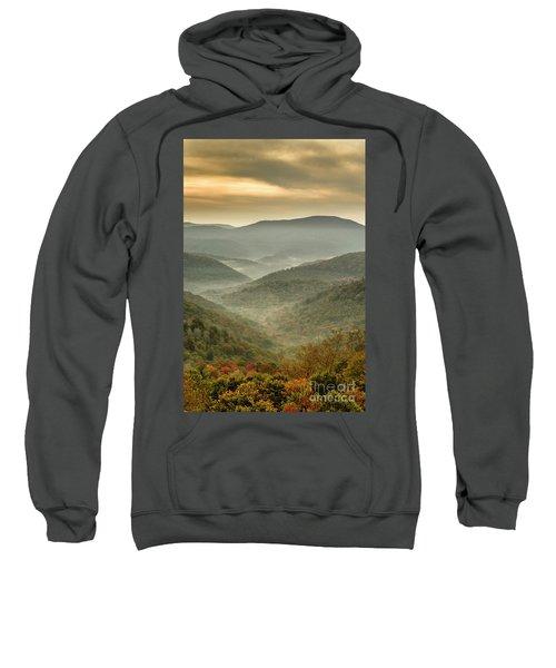 First Day Of Fall Highlands Sweatshirt