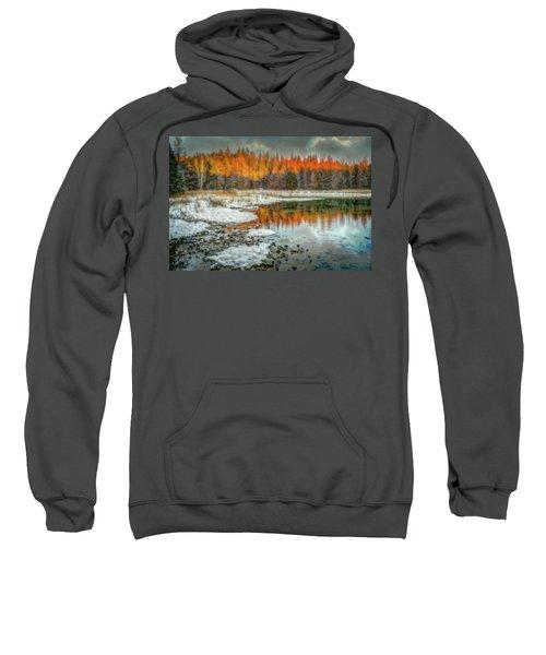 First Light At 3 Springs Sweatshirt
