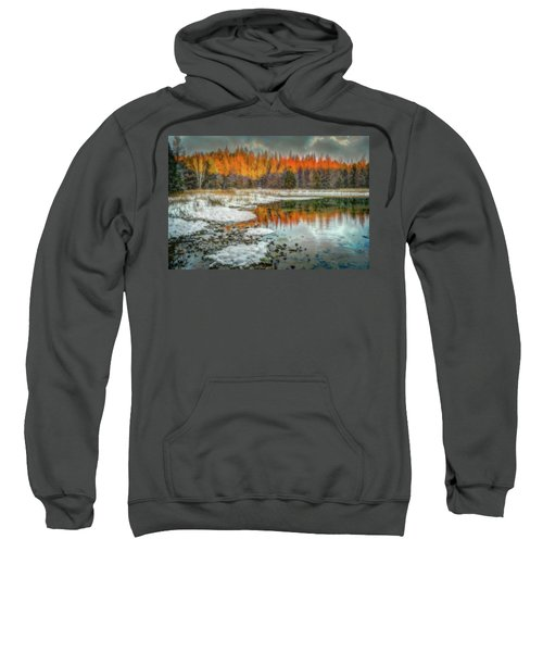 First Light At 3 Springs Sweatshirt