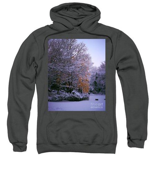 First Snow After Autumn Sweatshirt