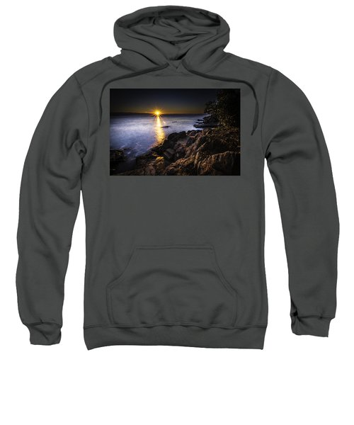 First Rays Over The Adriatic Sweatshirt