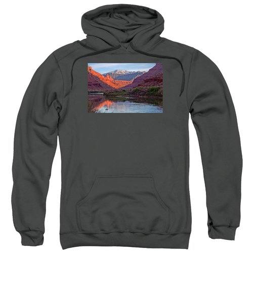Fisher Towers Sunset Reflection Sweatshirt