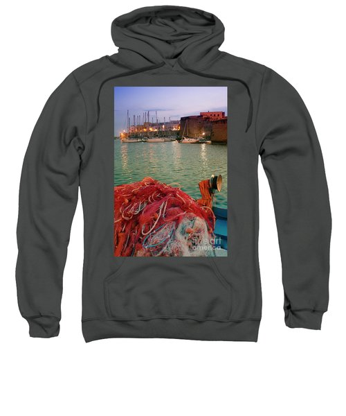 Fisherman's Net Sweatshirt