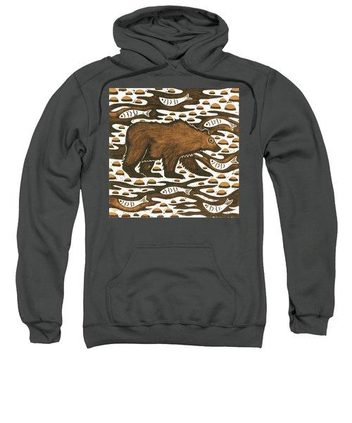 Fishing Bear Sweatshirt