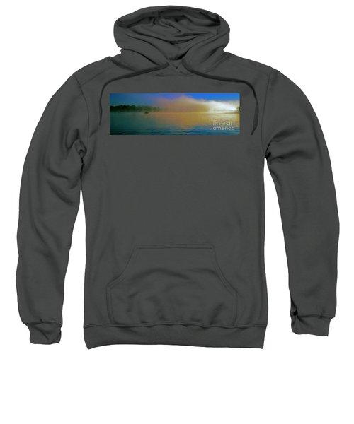 Fishing Boat Day Break  Sweatshirt